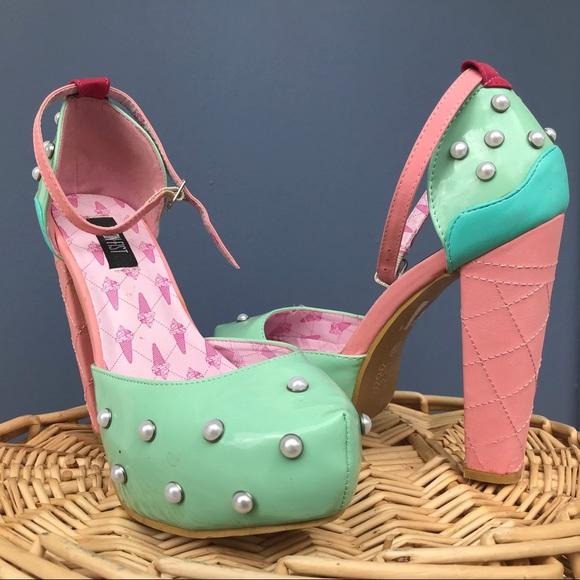 Iron Fist Shoes - Iron Fist Ice Cream Cone Heels